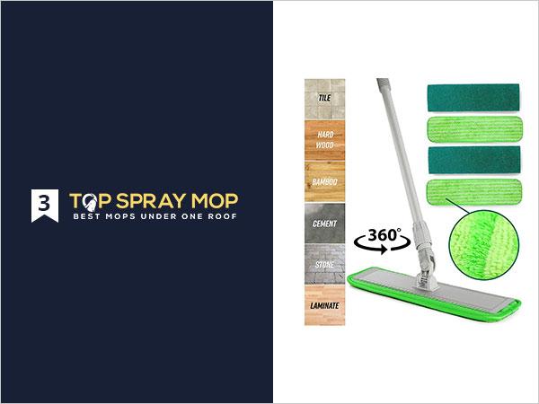Microfiber Mop Floor Cleaning