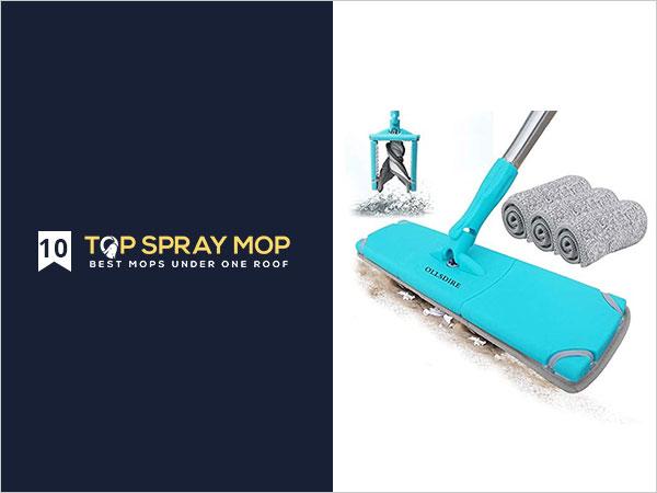 OLLSDIRE Microfiber Mop Laminate Floor Cleaner
