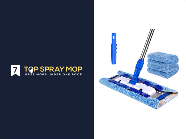 MR. SIGA Professional Microfiber Mop for Hardwood