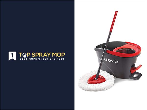 O Cedar EasyWring Microfiber Spin Mop