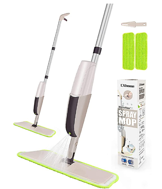 CXhome Microfiber Mop for Tile Floors