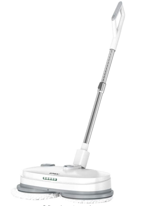 Electric Mop, Cordless Electric Spin Mop, Hardwood Floor Cleaner with Built-in 300ml Water Tank