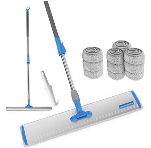 Wet Mop 24 Microfiber Mop Heavy Duty Floor Mop Aluminum Mop