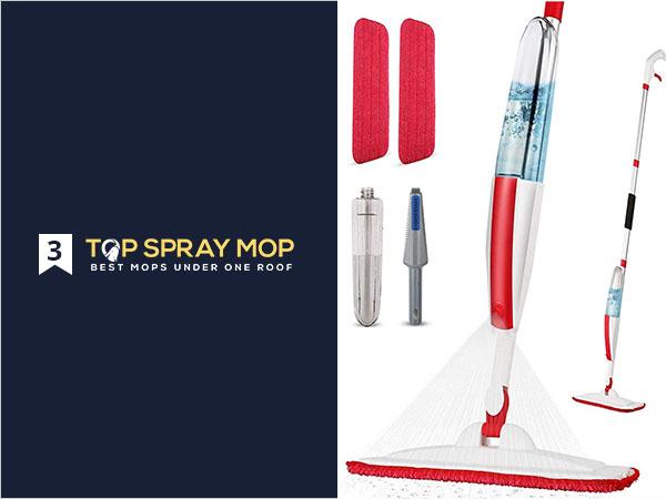 Mops for Floor Cleaning Wet Spray Mop