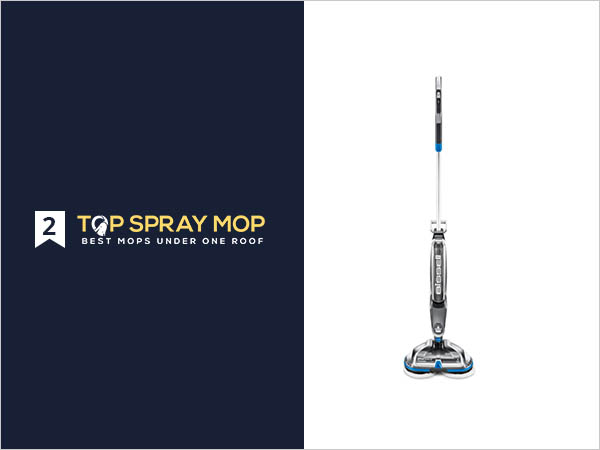 .Bissell SpinWave Cordless vinyl floor mop