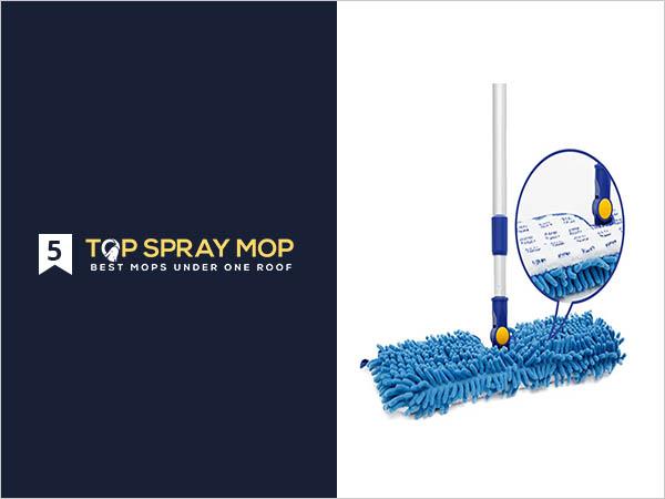 JINCLEAN 18 Microfiber Floor Mop