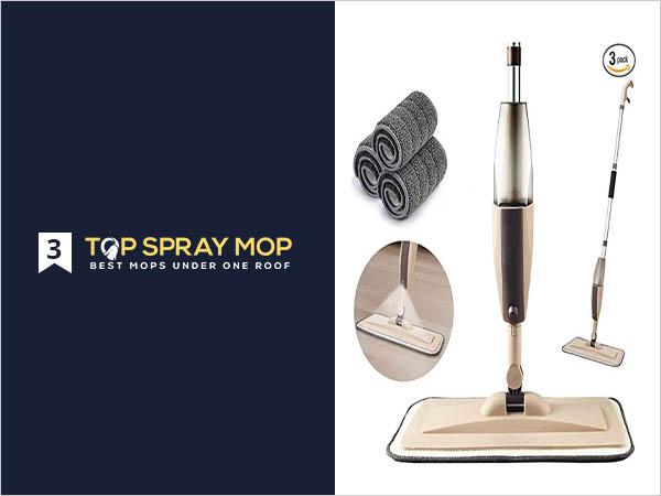 Microfiber Spray Mop