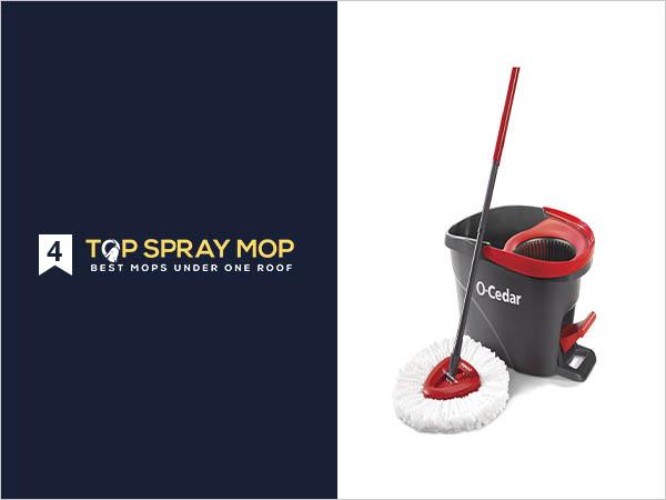 O-Cedar EasyWring Microfiber Mop