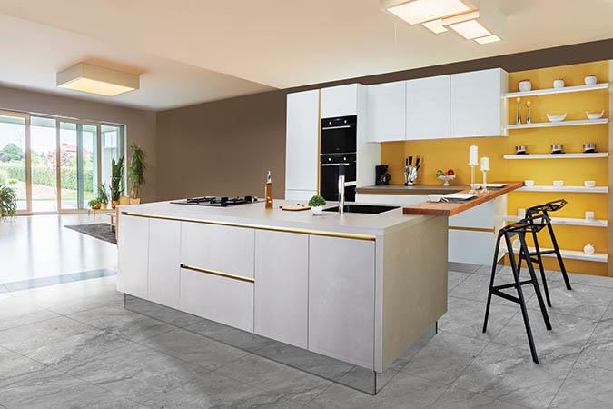 best way to deep clean kitchen tile floor