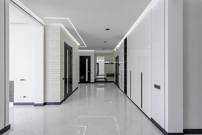 easy way to clean tile floors